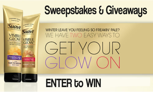 sweepstakes suave facebook giveaway