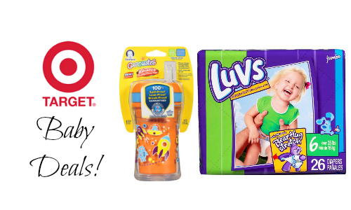 Target Baby Clearance + $20 off Coupon :: Southern Savers