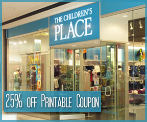 the children's place coupon 25 off