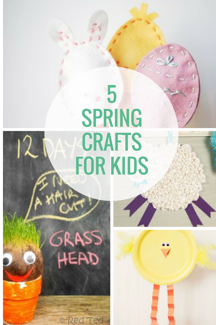 5 spring crafts for kids