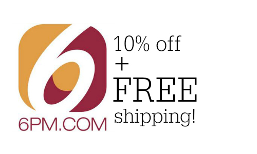 Www.6pm.com coupon code