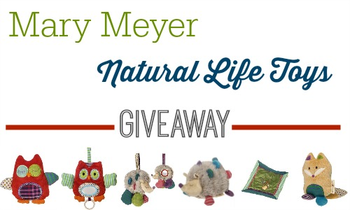 Enter to win a giveaway from Mary Meyer Natural Life Toys