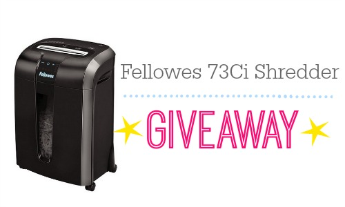Fellowes Shredder Giveaway