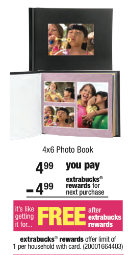 CVS Free Photo Book