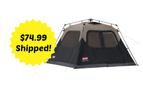 amazon tent deal  sc 1 st  Southern Savers & Amazon Deal: $20 off $100 Coleman Products Purchase + Tents 55 ...