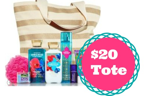 bath and body tote