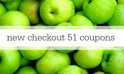 checkout 51 coupons