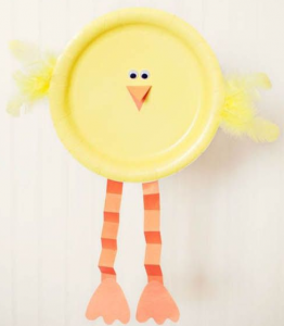 Paper Plate Chicken & Spring Crafts to Make With Your Kids :: Southern Savers