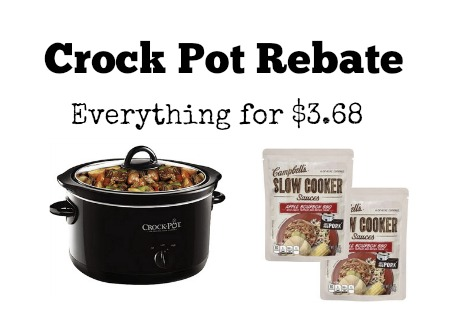 crock pot rebate