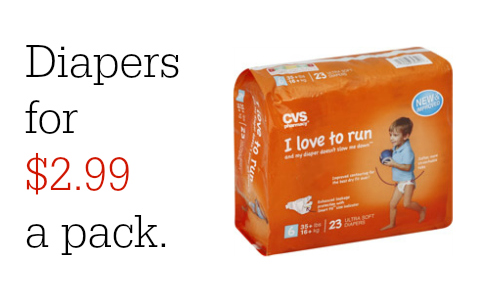 cvs diapers deal