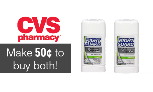 cvs right guard deal