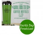 2014 Earth Day Freebies: Free Coffee, Reusable Tote Bags + More
