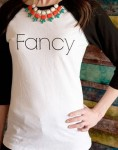 fancy graphic tee