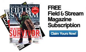 field & stream magazine subscription for free