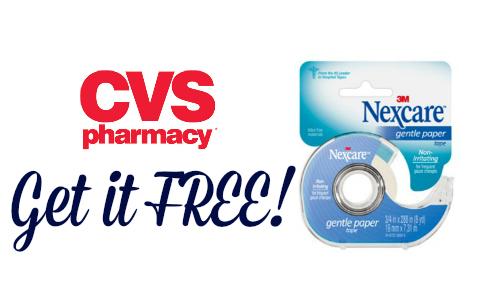 free nexcare tape