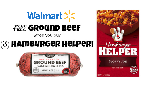 Hamburger Helper Rebate | Get FREE Ground Beef!