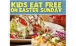 Outback Steakhouse: Kids Eat Free On Easter