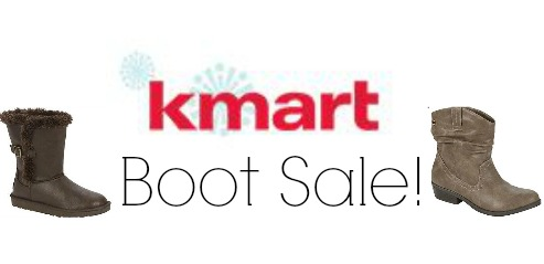 kmart boot sale