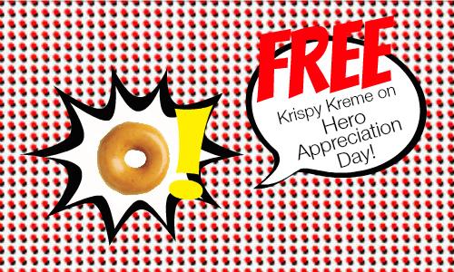 National Super Hero Day: Free Donuts