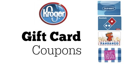 kroger gift card coupons