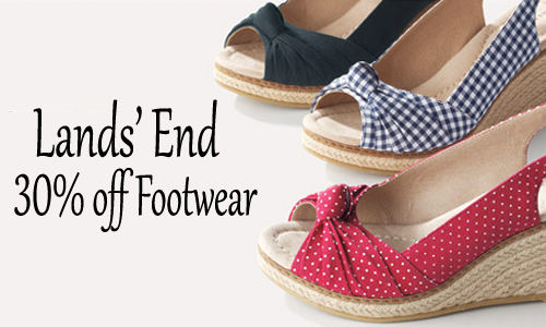 lands end shoe sale
