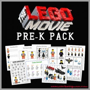 lego movie packet