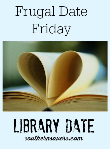 library frugal date idea
