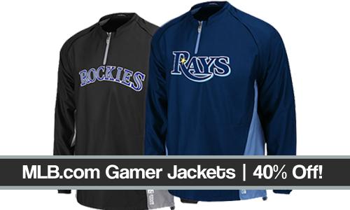 mlb gamer jackets