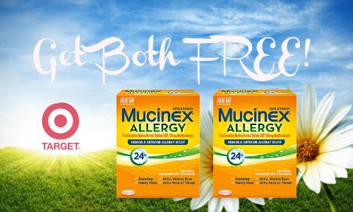 mucinex allergy deal