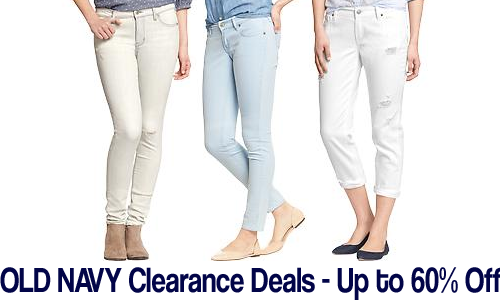 old navy cearance deals up to 60 off