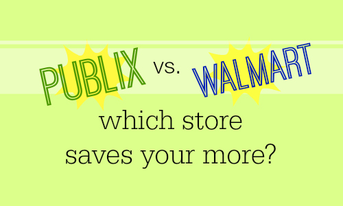 Walmart vs. Publix: Which Store Saves You More?