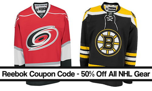 reebok coupon code 50 off nhl gear