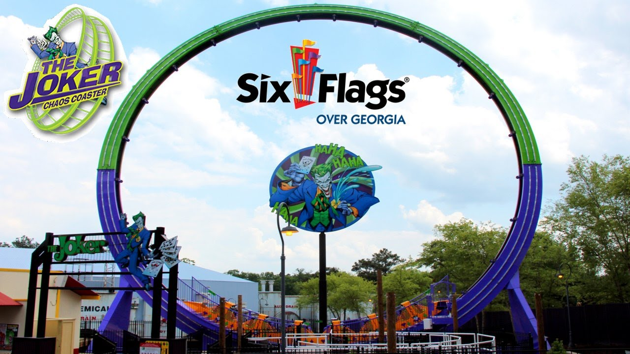 Six Flags Over Georgia Tickets For 39 99