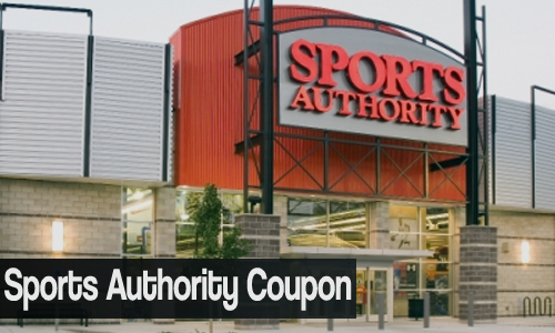 sports authority coupon