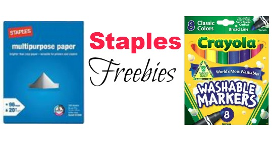staples freebies