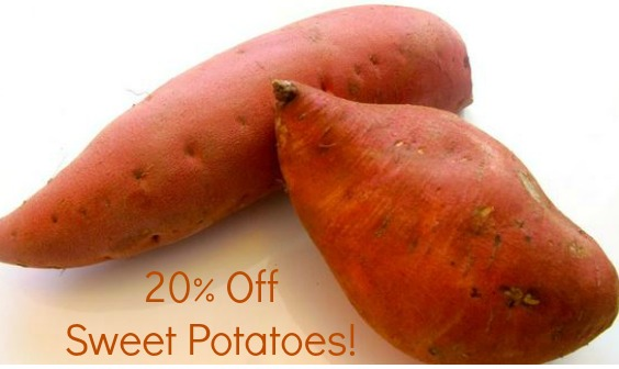 sweet potatoes savingstar