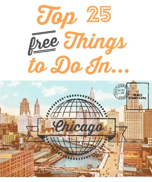 Top 25 free things to do in chicago southern savers for Weekend in chicago packages