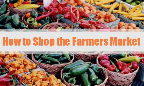 Are you on an organic living journey  Learn ways to shop the farmers market for your produce.