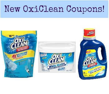 Printable OxiClean Coupons