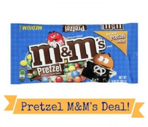 Pretzel M&M's Coupon