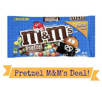 Pretzel M&M's Coupon