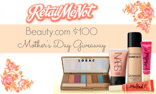 RetailMeNot $100 Mother's Day Giveaway