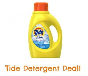 Tide Detergent Coupon