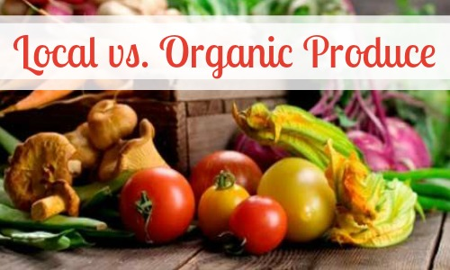 What's the difference in Organic and Local produce?  Find out in this Organic Living Journey.