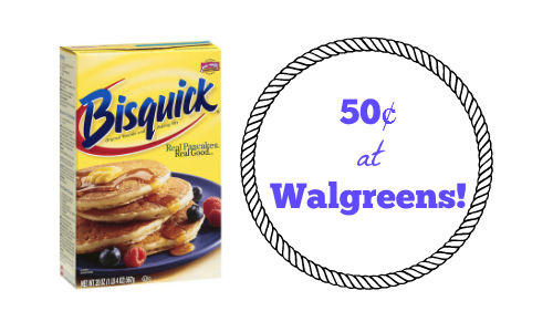 $0.50 (Reg $1.50) Bisquick at.