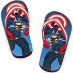 captain america flip flops