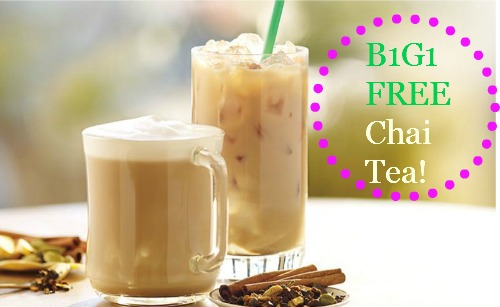 chai tea deal