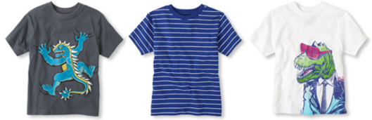 children place boys tees