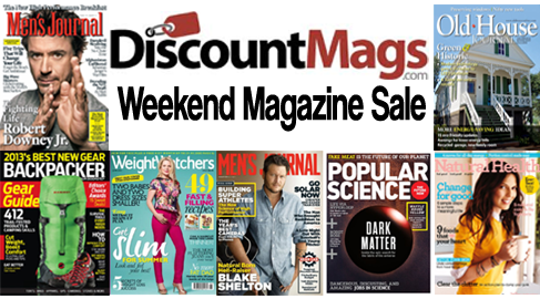 discountmags magazine sale