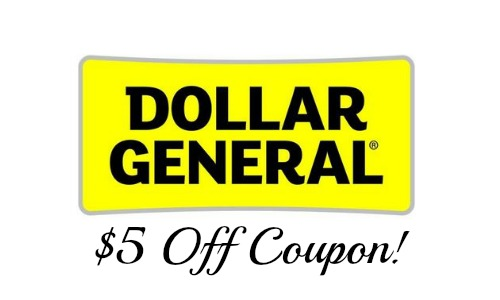 dollar general coupon